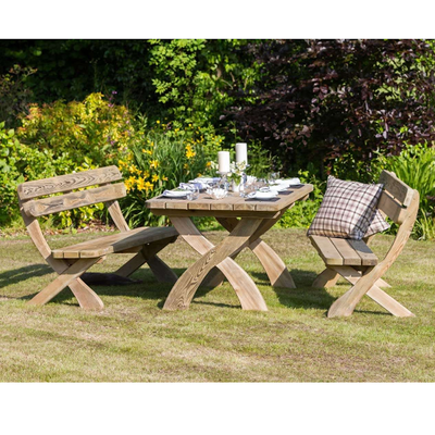 Harriet Table and Bench Set