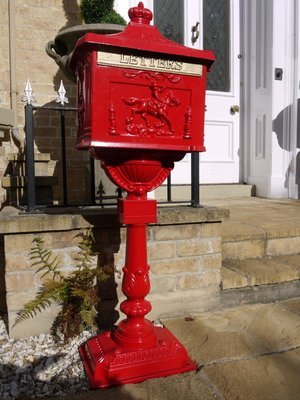 Tall Mail Box