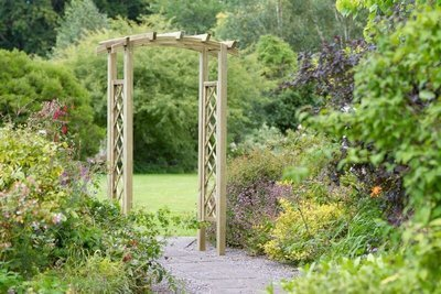 Starlight Wooden Arch
