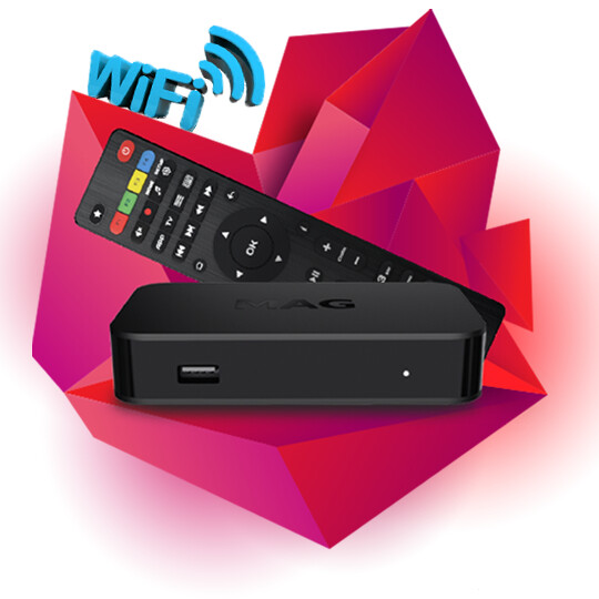 IPTV ПРИСТАВКА MAG 420W1