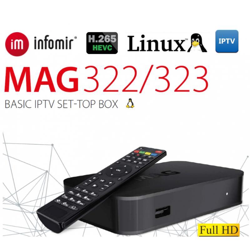 IPTV SET-TOP BOX MAG322 023658