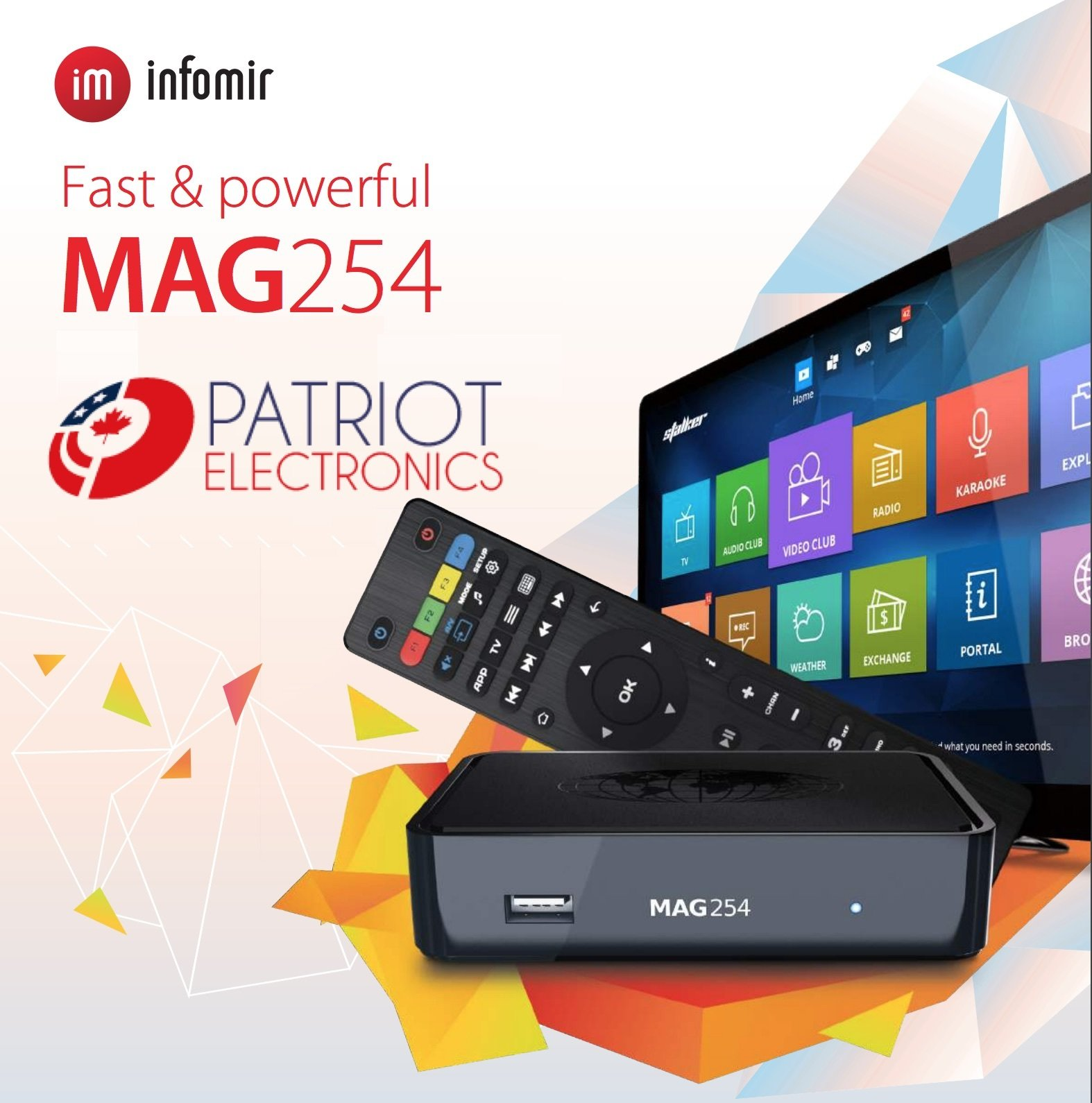 IPTV SET-TOP BOX MAG254 023659