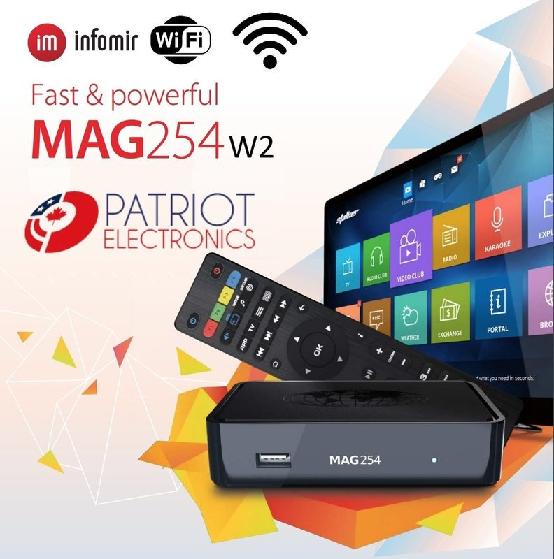 IPTV SET-TOP BOX MAG254 W2