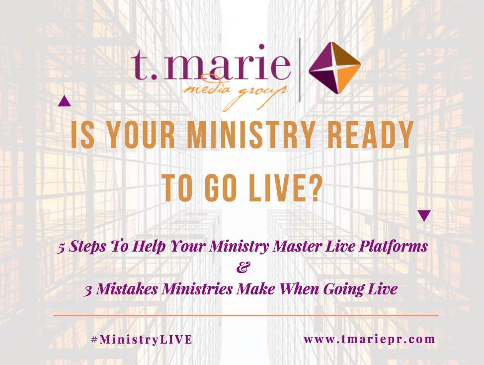 Is Your Ministry Ready To Go LIVE? 00003