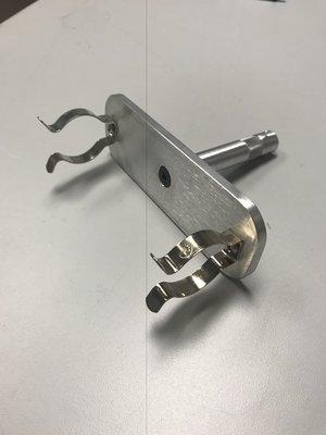 T-12 Flourescent tube holder w/ 5/8