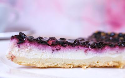 Швабский черничный пирог