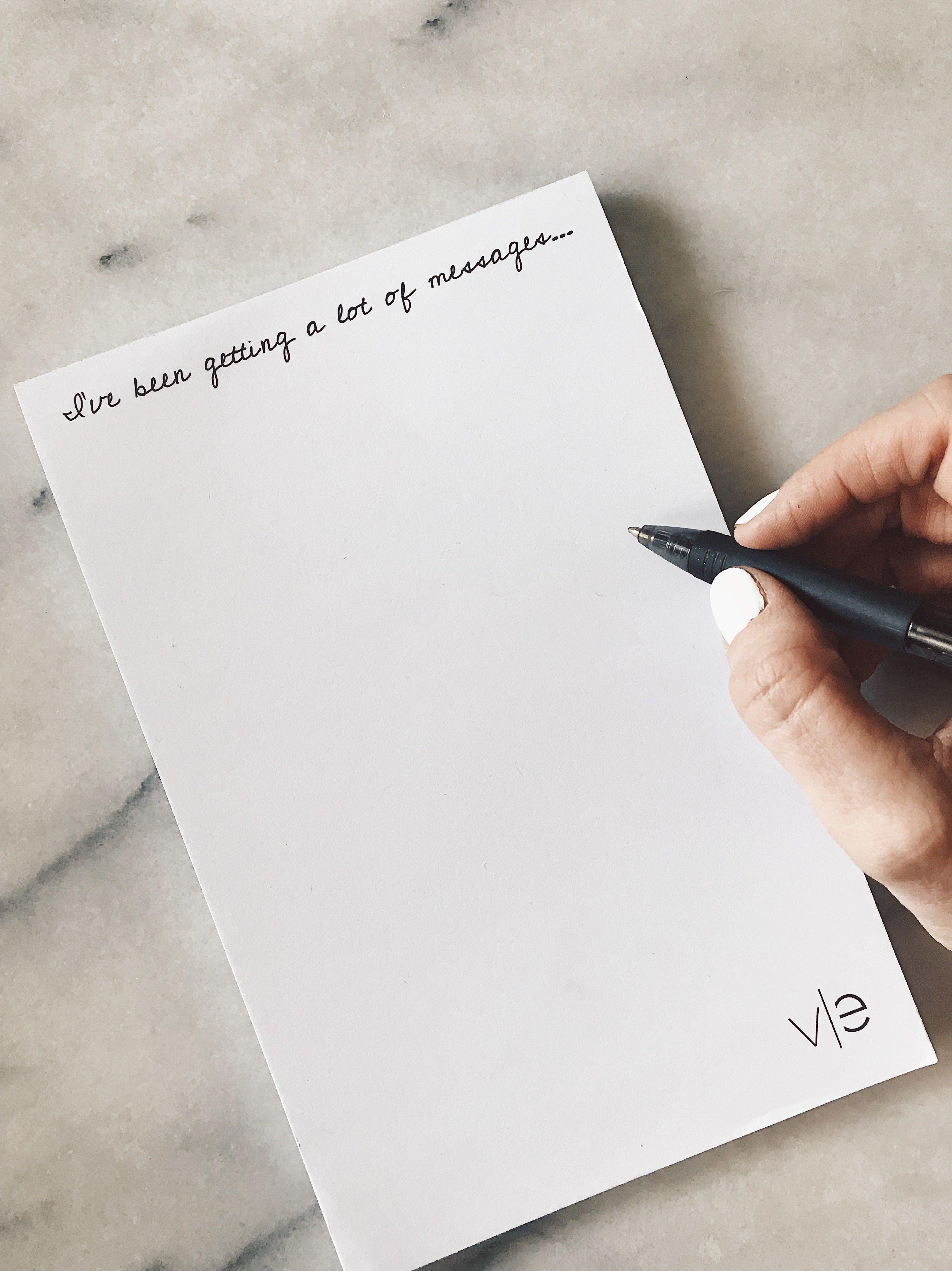 Velvets Edge Notepad 001