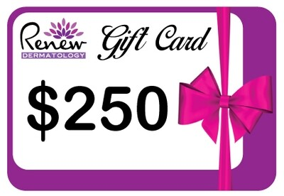 Renew Dermatology Digital Gift Card - $250