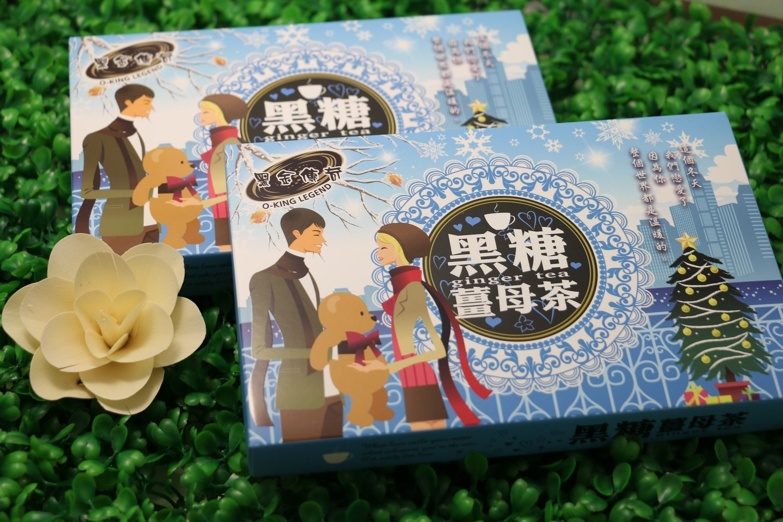 黑糖薑母茶(禮盒) 210G