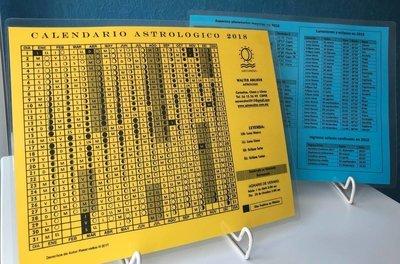Calendario Astrológico 2019