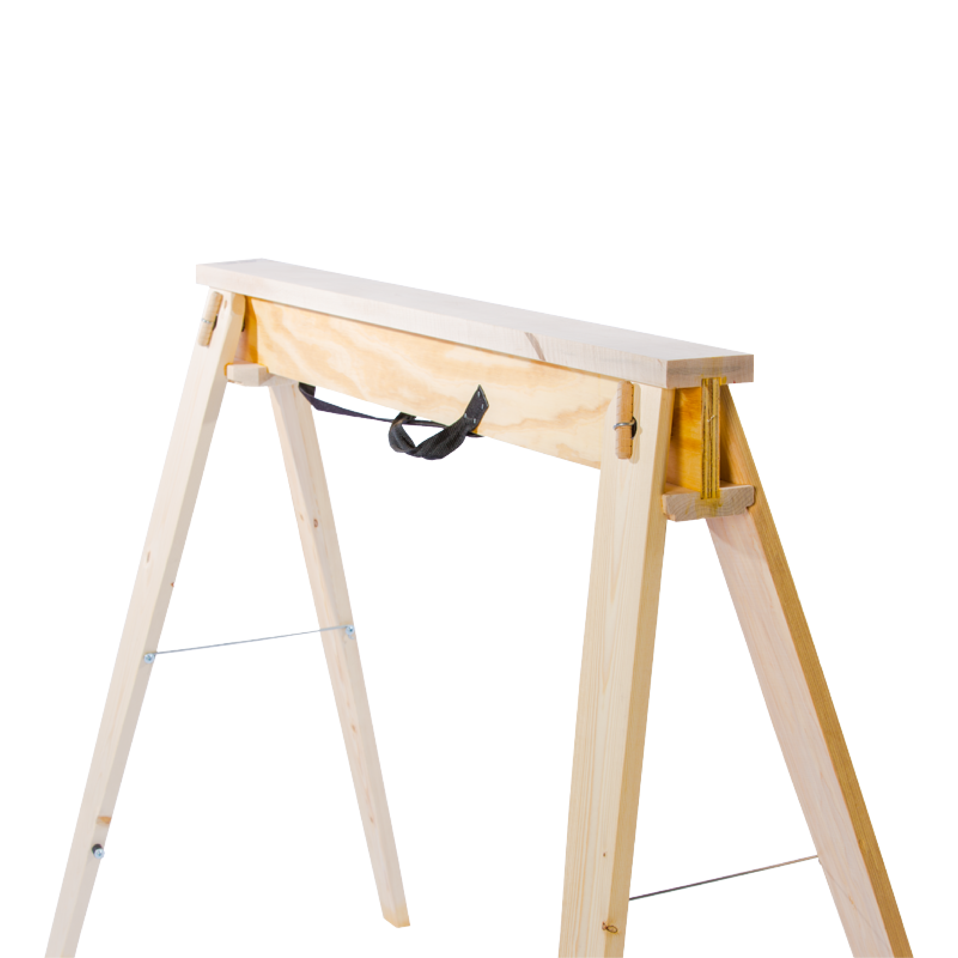 Hide-A-Horse Single Folding Sawhorse Front