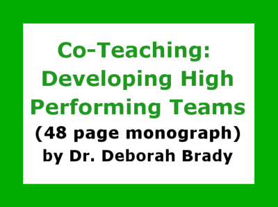 Co-Teaching Monograph