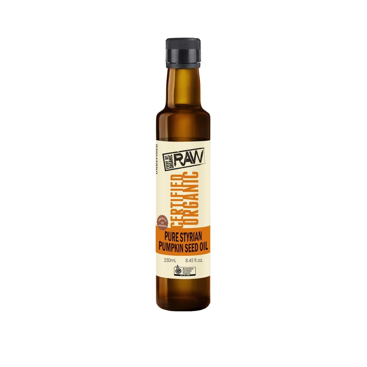 Every Bit Organic Styrian Pumpkin Seed Oil (250ml)