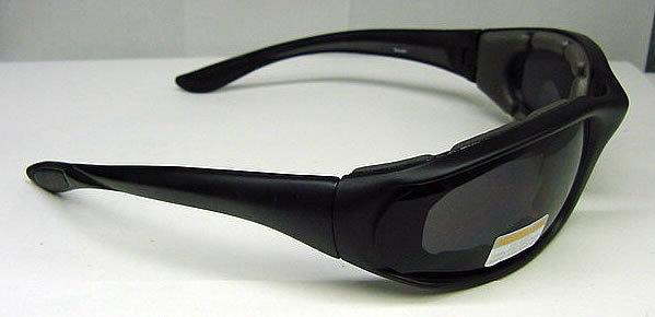 Smoked Polarized Lens / Black Frames