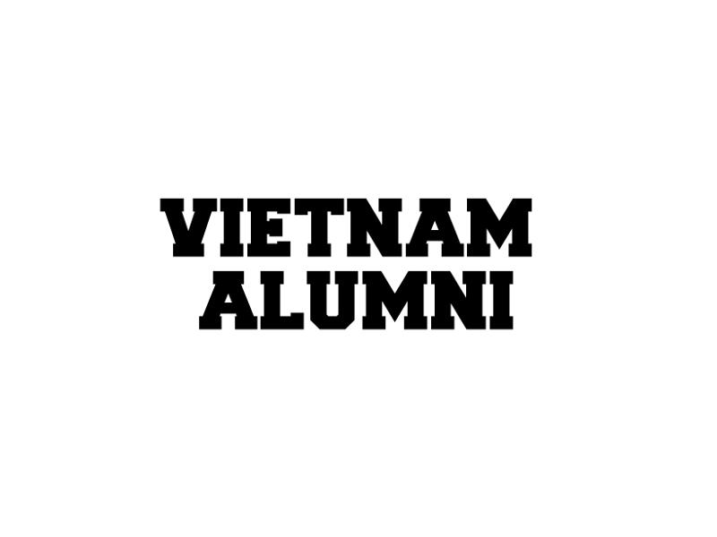 Vietnam Alumni Vinyl Military Decal