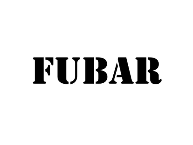 FUBAR Vinyl Military Decal