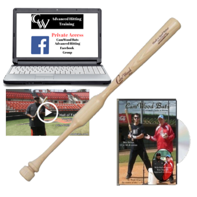 CamWood Trainer, DVD, FB Group, Tony Gwynn Video + FREE SHIPPING