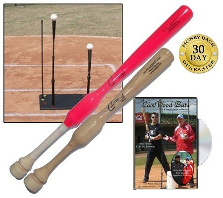 Softball Adult Trainer, Adult One Hander, DVD and Pro Drill Tee