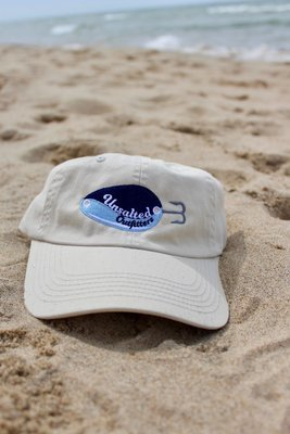Embroidered Light Khaki Short Hat