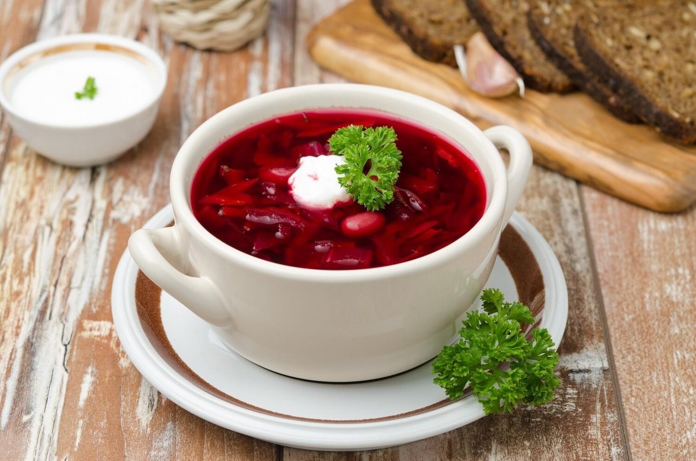Суп Борщ украинский(250 гр)