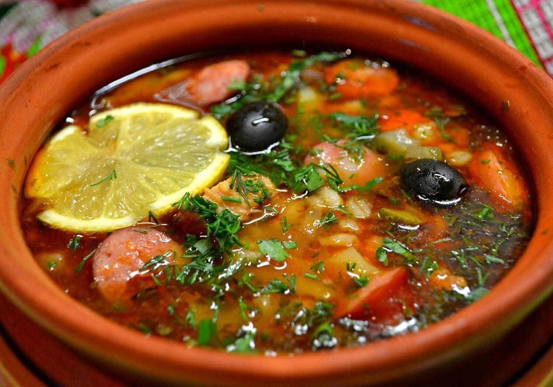 Суп солянка сборная мясная(250 гр)