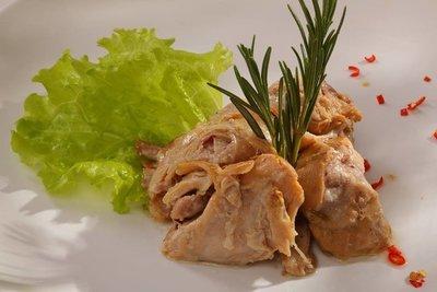 Мясо кролика в собственном соку 200 гр