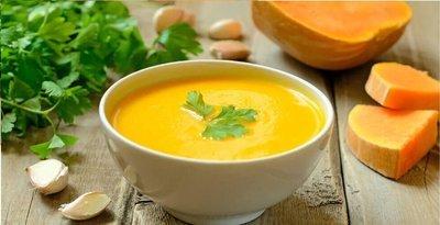 Сливочный суп-пюре из тыквы