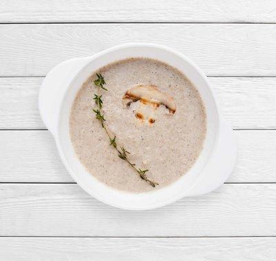 Сливочный суп-пюре грибной
