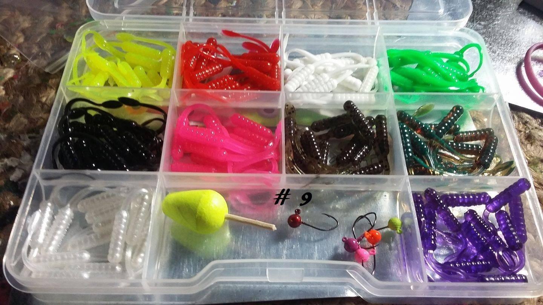 "120 piece 2"" nummy tails singles kit"