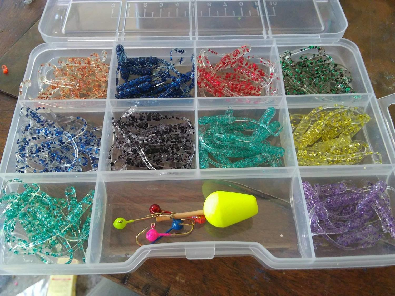 "2"" 120 piece Nummy Tails flake kit"