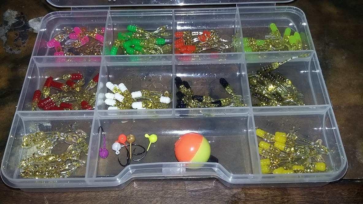 "120 piece 1.5"" Nummy tail jr gold series kit"