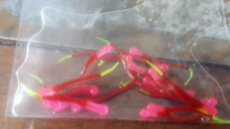 1.5 Venom Tip 20 per pk  hot pink/red/chartruse