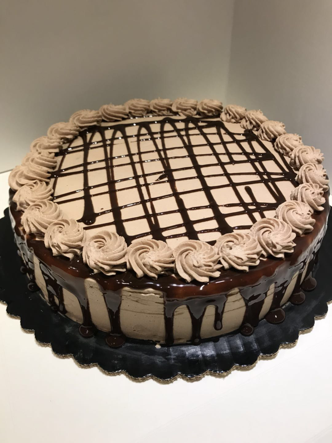 Chocolate Crepe Cake 6 inch (8 and 10 inch also available)