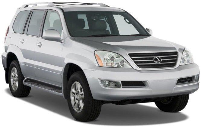 Lexus GX470 UZJ120 Denso 89661-60D31 89663-60731