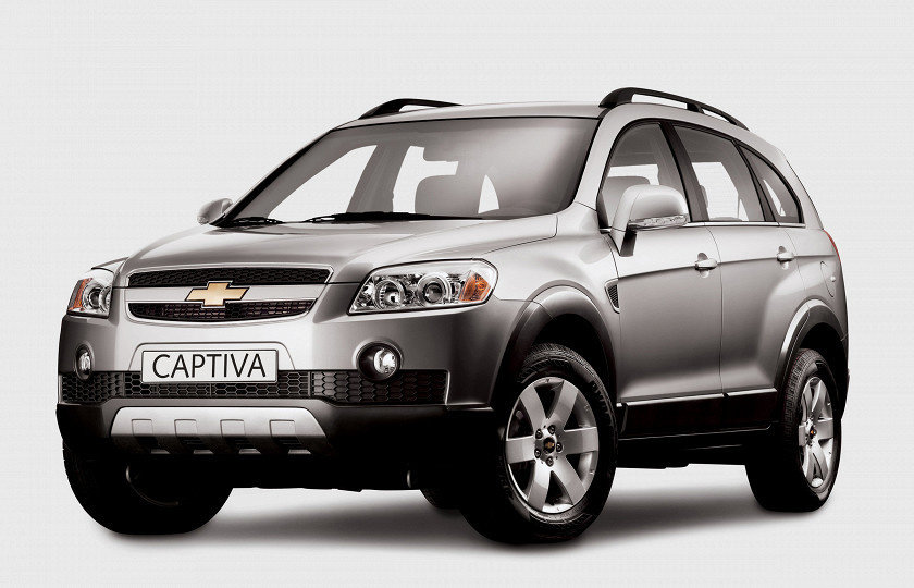 Chevrolet Сaptiva 2.4i ME7.9.9 0261208782 96838773