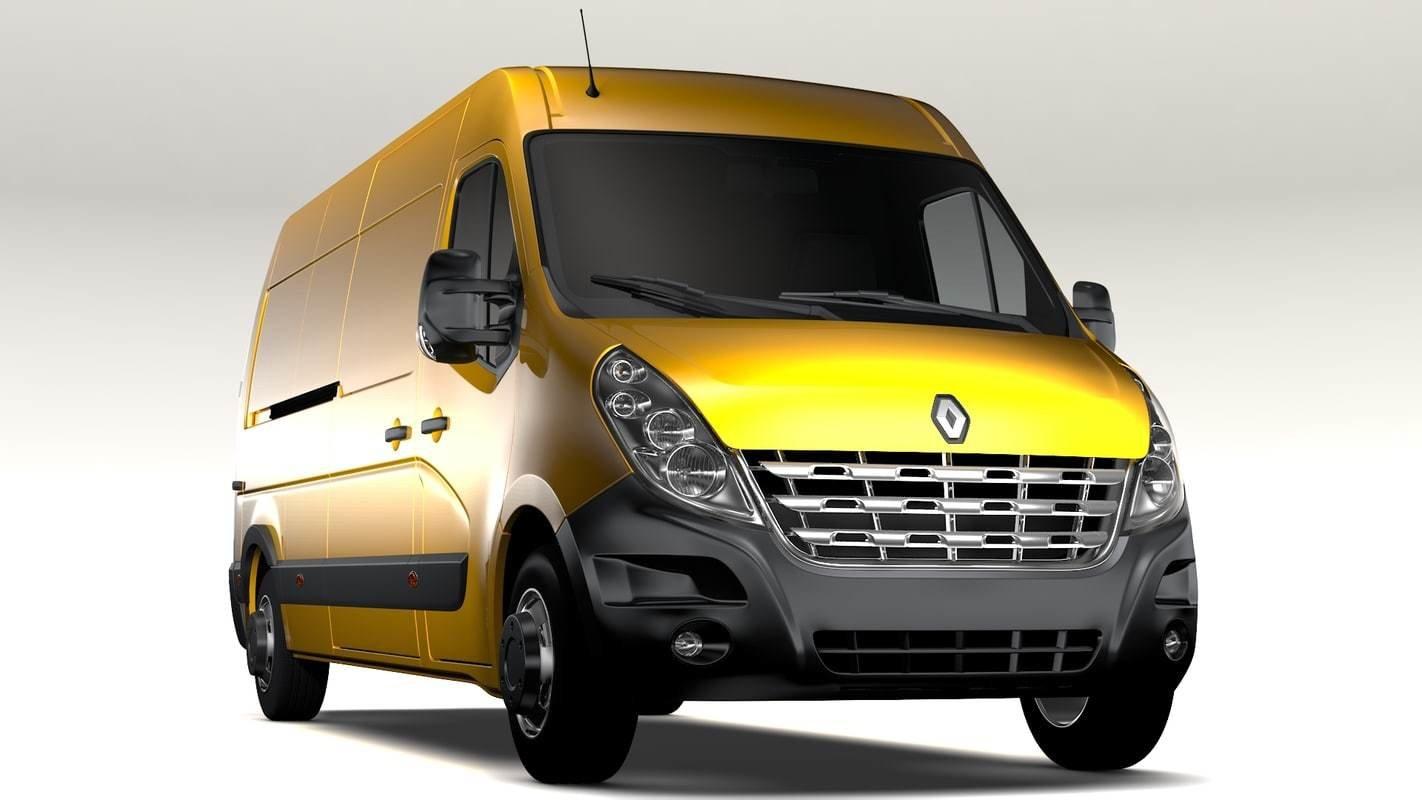 Renault Master 2.5DCI EDC17C42 1037534062