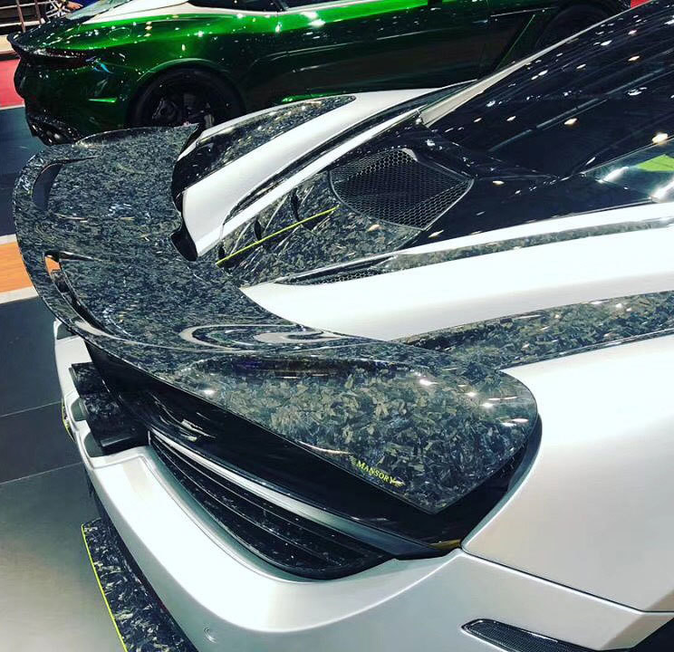 720S Mansory Performance wing