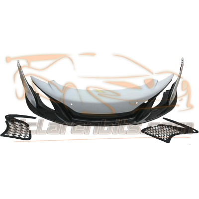 650S style front bumper assy