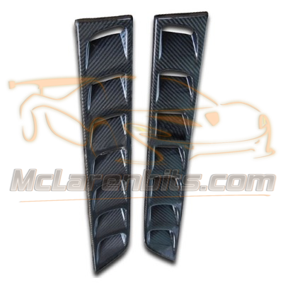 12C & 650S rear hatch vent cover set