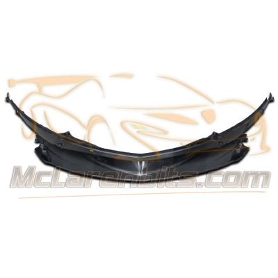 570S front bumper splitter