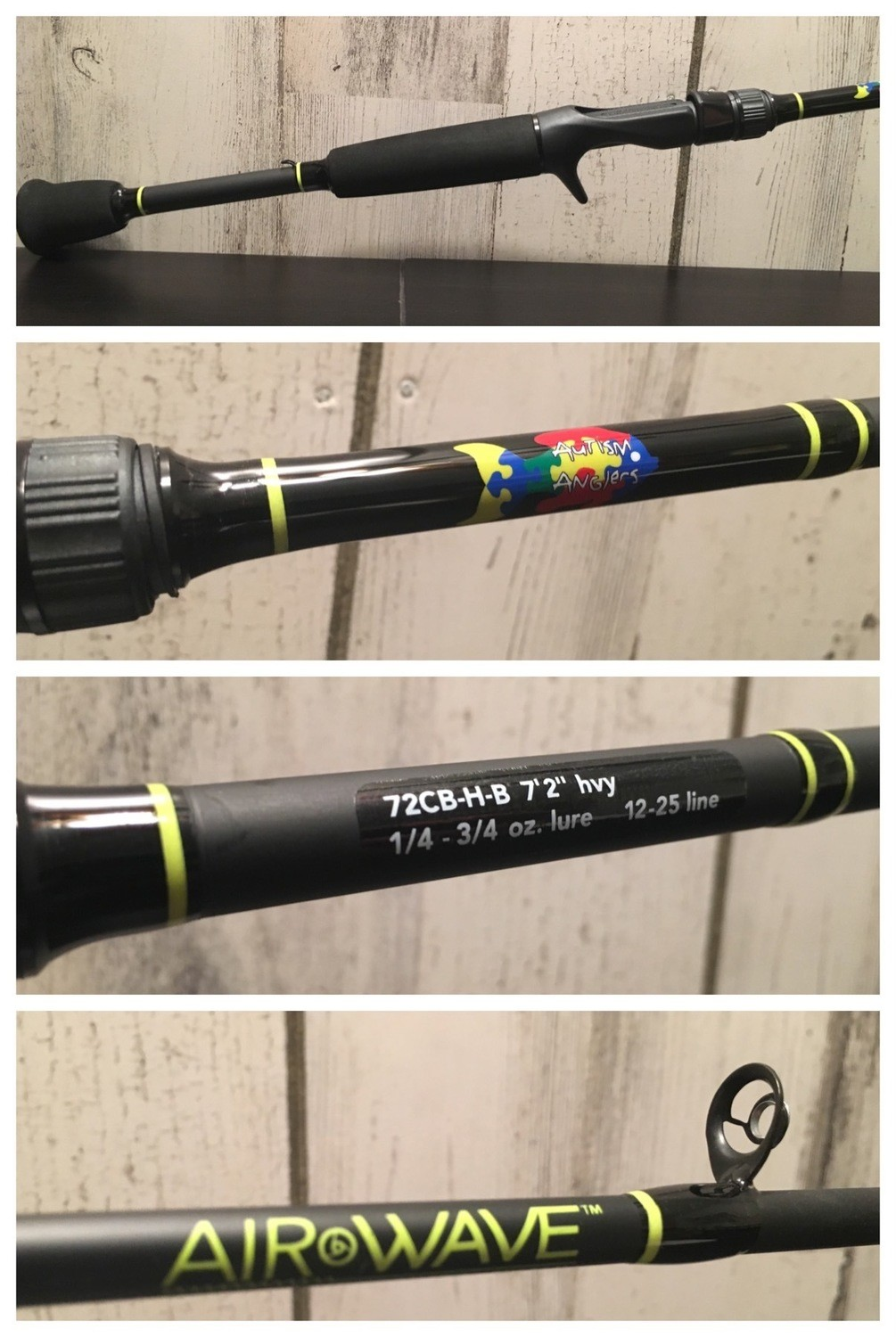 Autism Anglers Casting Rod: Heavy - SALE