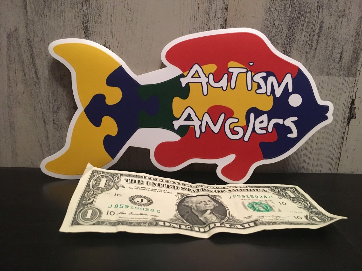 """8"""" Autism Anglers Decal"""
