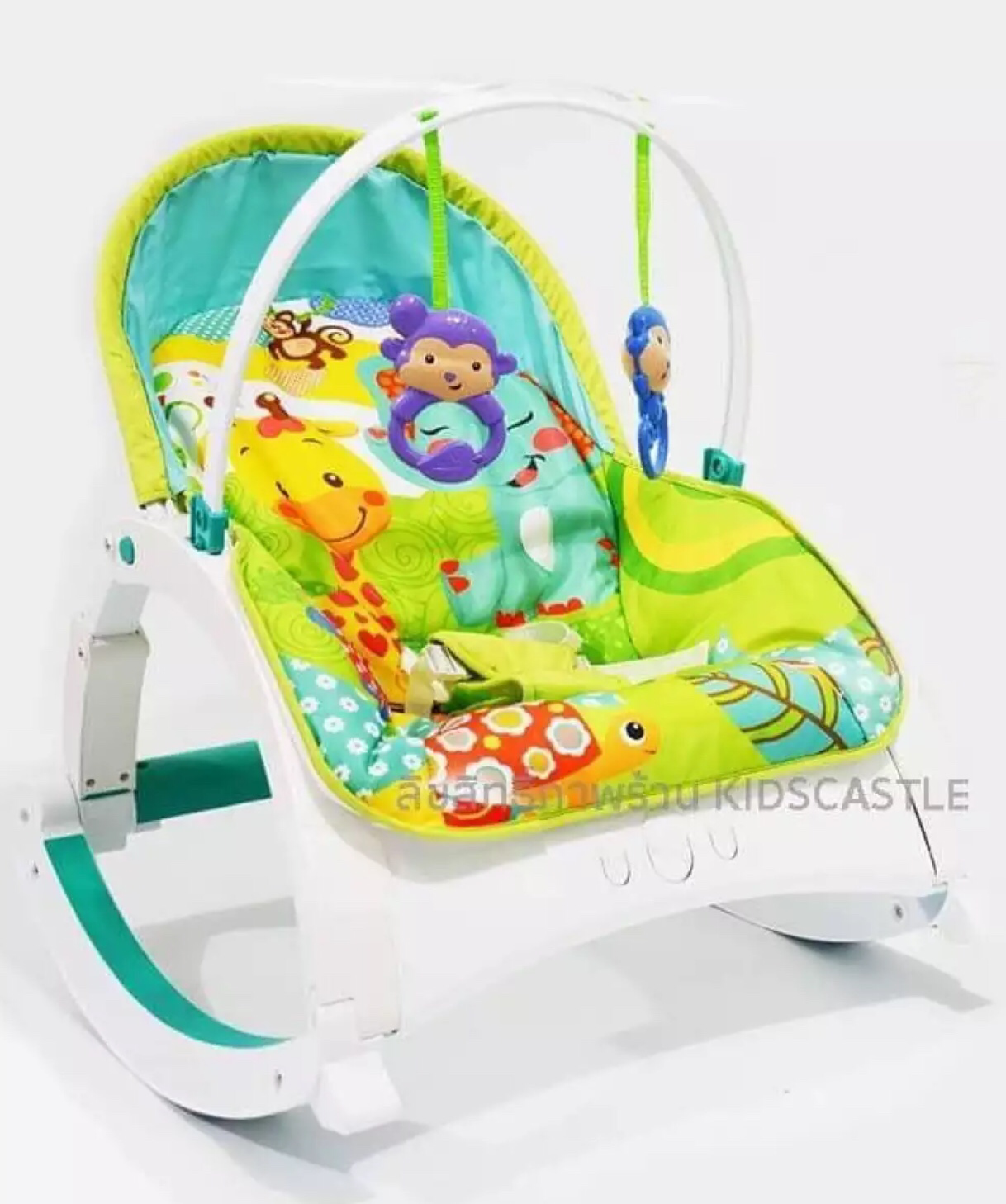Toddler Rocker Bouncy Seat with Vibration & Music 00054