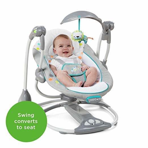 ConvertMe Swing-2-Seat Portable Swing - Ridgedal
