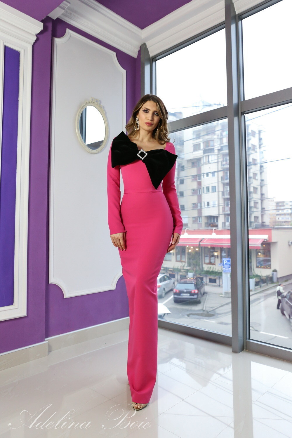 Rochie Ines long