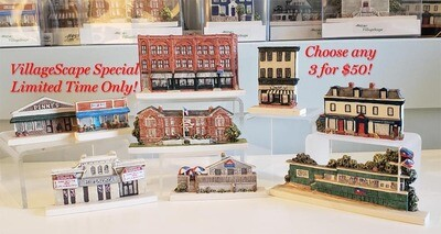 Buy 3 of these VillageScapes and Save!