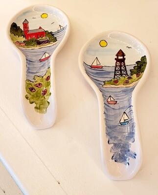 Marblehead Ceramics  Spoon rest