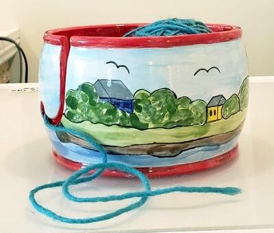 Marblehead Ceramics  Yarn Bowl
