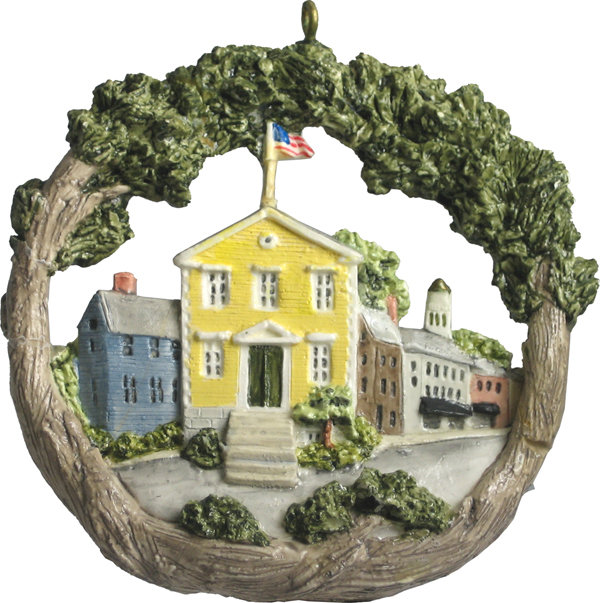 1996 Marblehead Annual Ornament - Old Town House MA-MARB-AS-00353SYX96