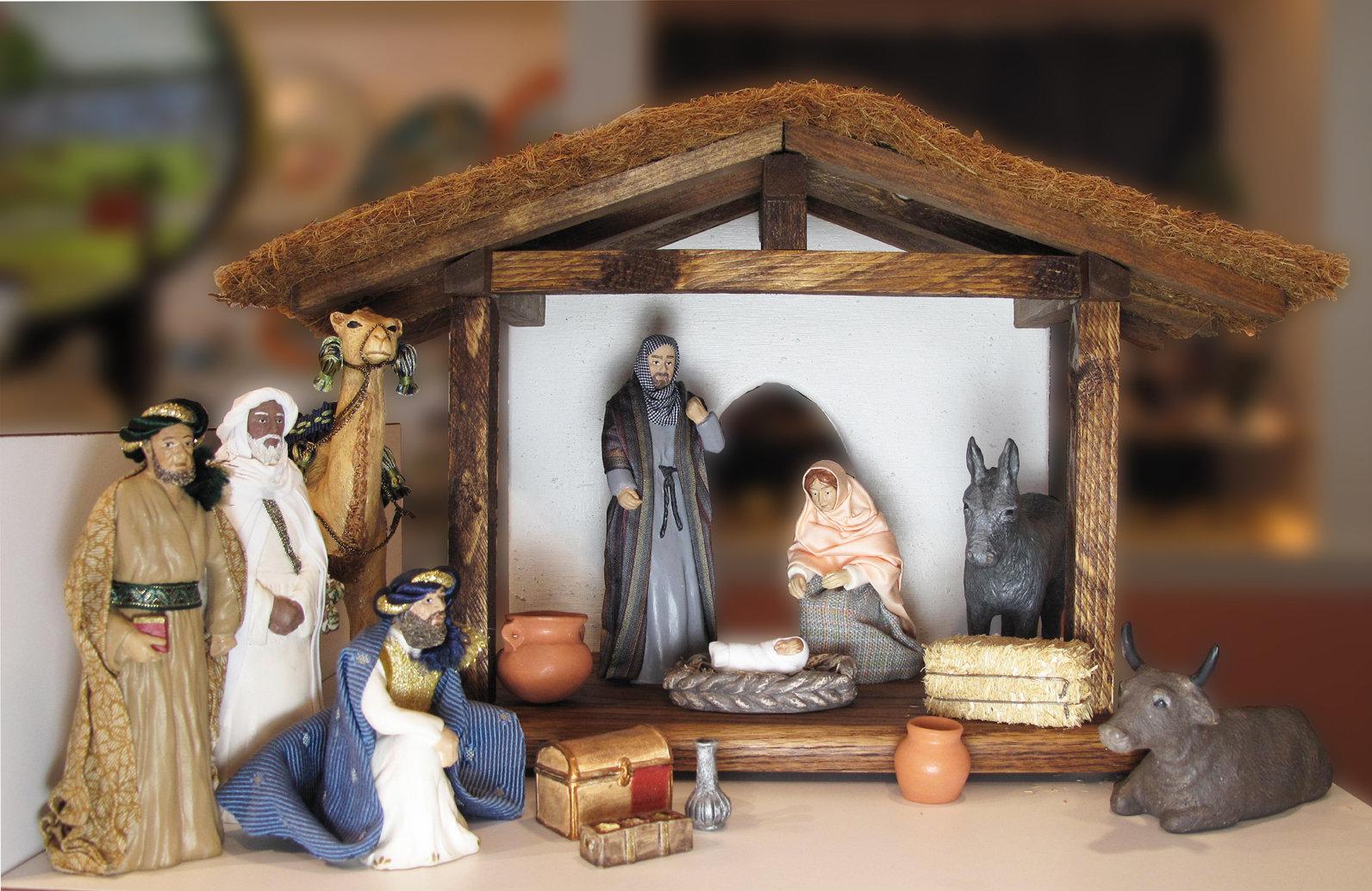 12 Piece Deluxe Nativity Set NT-FIGS-12DELUXESETXX